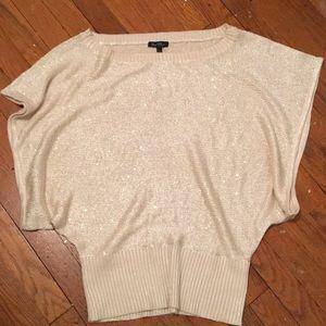 Oversized sparkle sweater